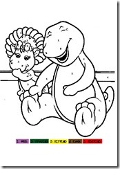 barney-color-by-numbers