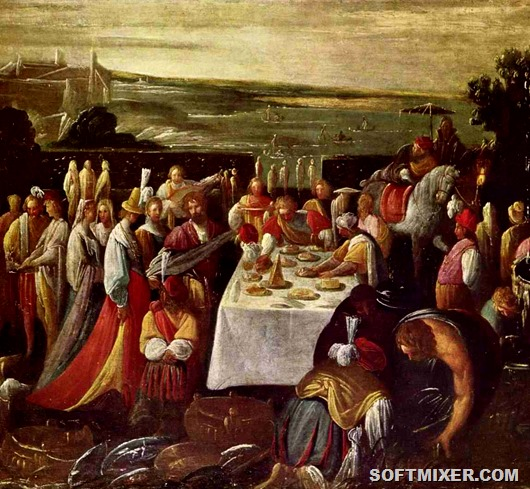 Кушанья и питиё средневековья
