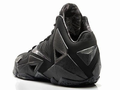 nike lebron 11 gr triple black 4 04 LeBron 11 Blackout Gets Sooner Release Date. Drops this Saturday!