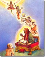 [Prabhupada and the disciplic succession]