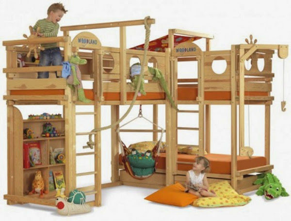 Cool Play Bunk Beds1 790x601 Cool Bunk Beds