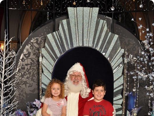 QVB + Santa + Snow = Joy