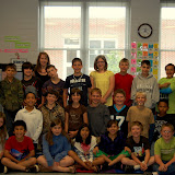 Cici's Pizza Pledge Cole Ridge Elementary Ms. Dunn's 4th Grade Class 4-14-10