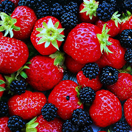 STRAWBERRYS  by Dobrin Anca - Food & Drink Fruits & Vegetables ( red, food, good, walk, strawberry,  )