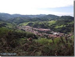 Panorámica de Lesaka - Navarra