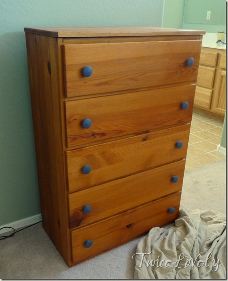 Dresser Before