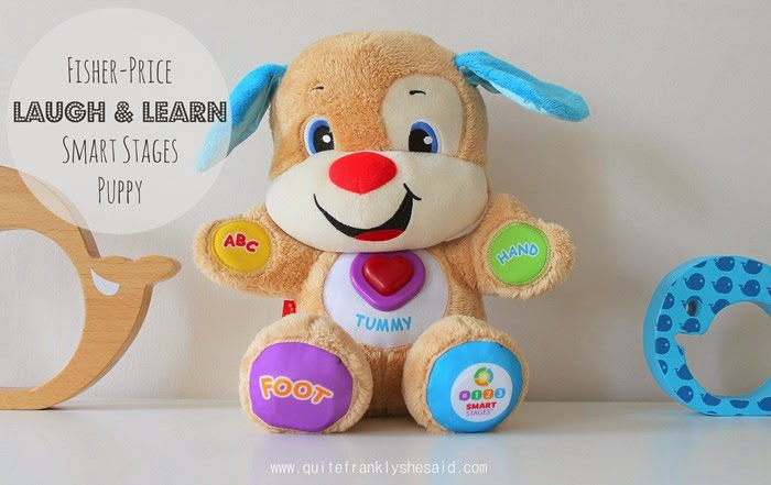 Review Fisher-Price Laugh Learn Smart Stages Puppy