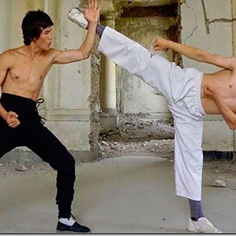 Joven sorprende por su parecido a Bruce Lee