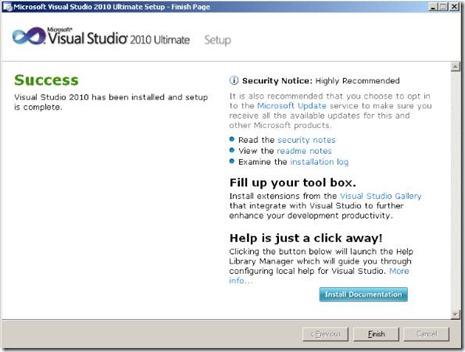 Cara Aktivasi Visual Studio 2010.5