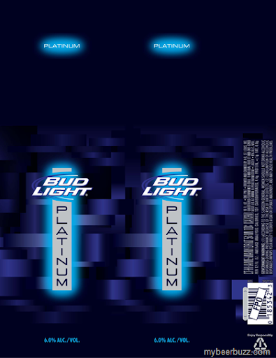 Hereu0027s Your First Look At The New 16oz Can Packaging Coming From  Anheuser Busch For Bud Light Platinum (6% ABV, 137 Calories Per 12oz  Serving), ...