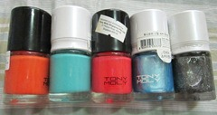 tony moly nail polishes, bitsandtreats