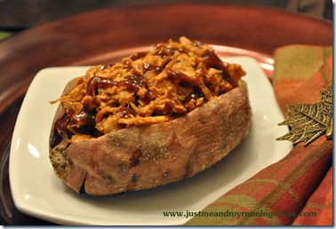 BBQ Chicken Stuffed Sweet Potatoes (4)