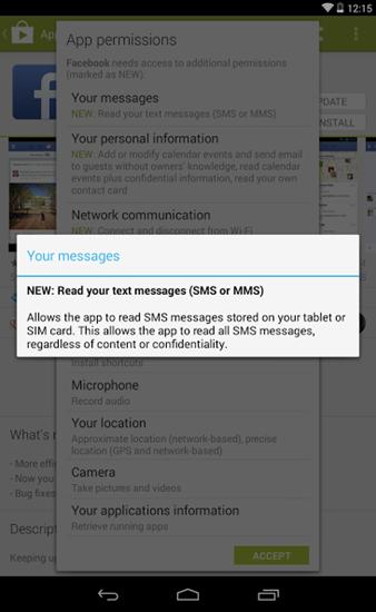 Facebook App Texts[4]