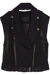 Karl Orma stretch-jersey and mesh biker vest