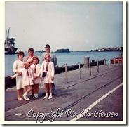 Nakskov Færgehavn 1968 Søndagstur til Langeland