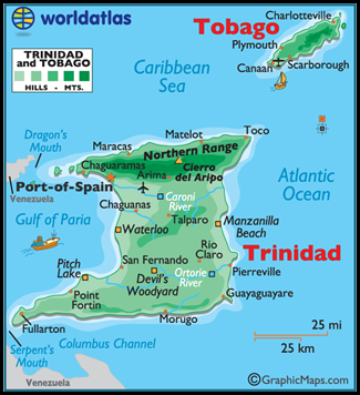untitled trini map