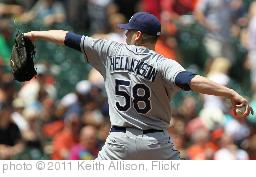 'Jeremy Hellickson' photo (c) 2011, Keith Allison - license: http://creativecommons.org/licenses/by-sa/2.0/