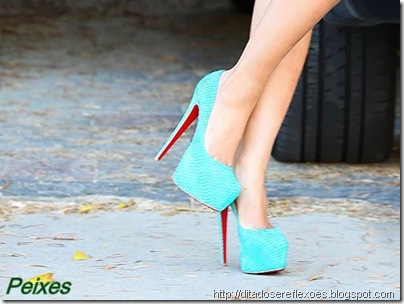 sapatos dos signos  - peixes