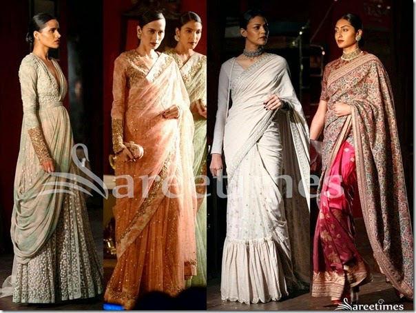 Sabyasachi Saree Collection 2014 | sareetimes Sabyasachi Bridal Collection 2014