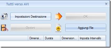 Format Factory Aggiungi File Impostazioni Destinazione