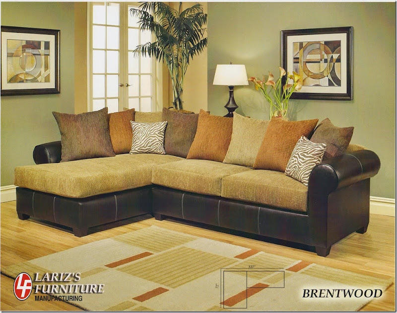LARIZ'S BRENTWOOD SECTIONAL