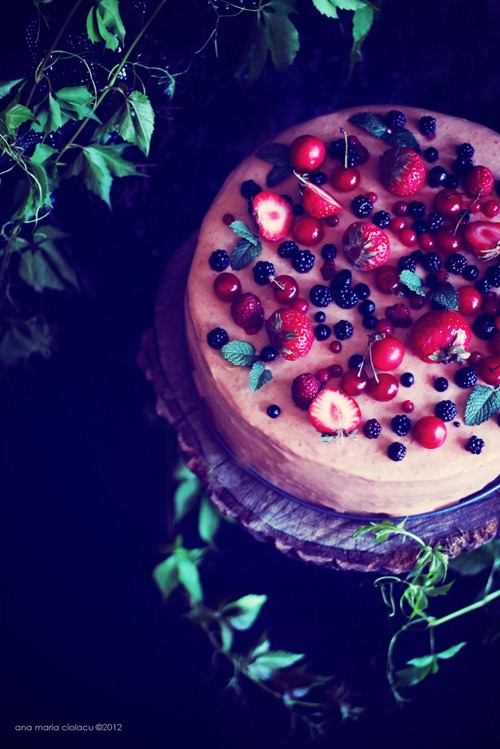 Cherry Berry Mousse Cake 21