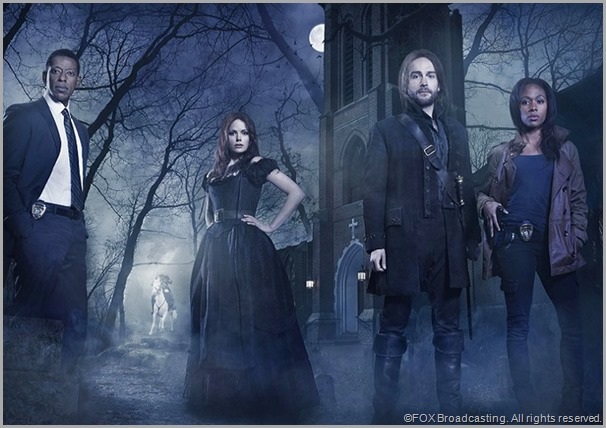The cast of SLEEPY HOLLOW on FOX.