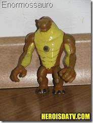 ernomossauro humongossauro Bonecos Ben 10 Força Alienígena - brinquedos