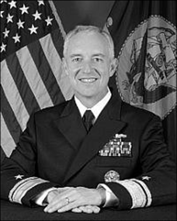 Rear Admiral (RADM) David Titley, USN (ret.), former oceanographer of the Navy and former head of the U.S. Navy's Task Force Climate Change. Photo: Climate and Security
