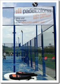 """""""Padel colonia"""" es el primer club de padel en el estado federal de Renania del Norte-Westfalia, enfocado como una colaboración entre la Universidad de Colonia y un inversor privado."""
