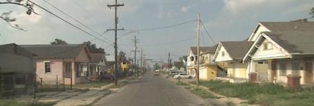 Desire Street, New Orleans
