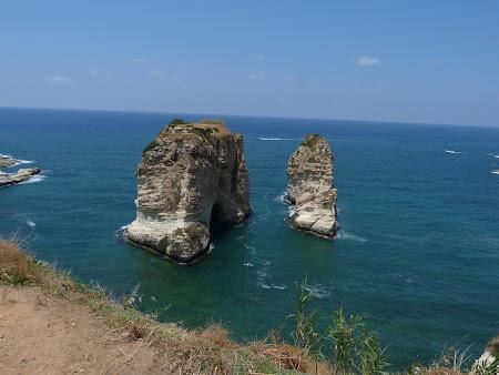 31. Imagini Liban - Pigeons Rocks
