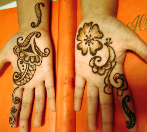 small medium Henna designs
