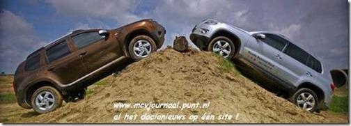 Dacia Duster vs VW Tiguan 01