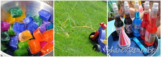 Summer rainbow activities for child care