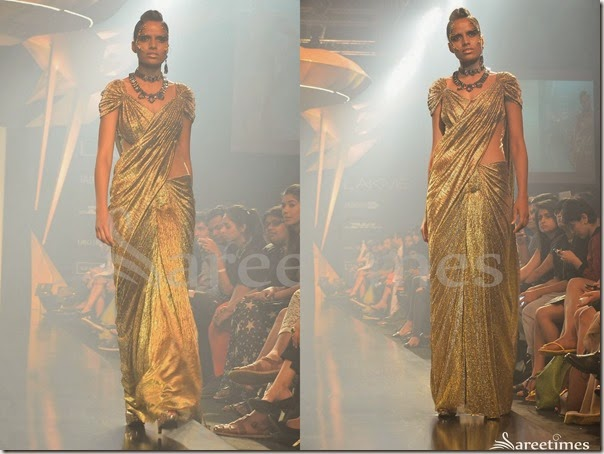 Gaurav_Gupta_Gold_Saree