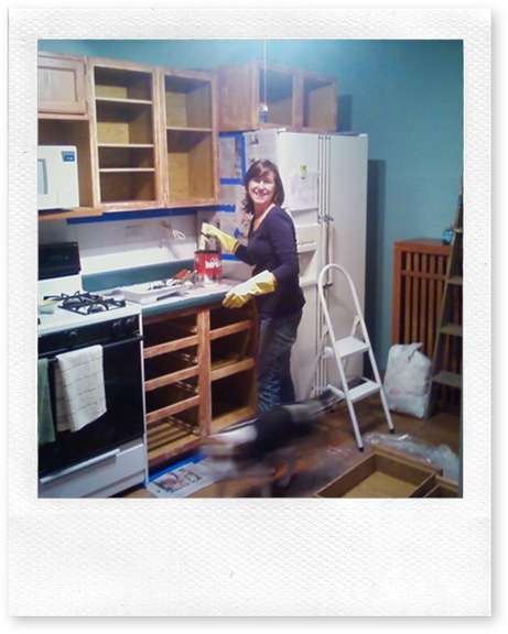 Painting Builder-grade Oak Cabinets: What I Did