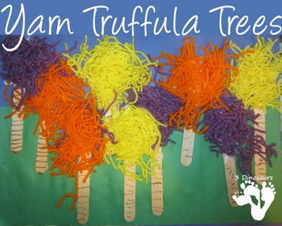 Truffula Trees Lorax from 3 Dinosaurs