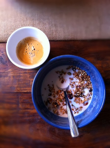 espresso granola