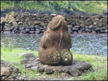 Tiki at Fatu Hiva
