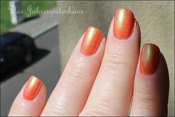 Lackaktion Orange mpk Nails Lachs-effekt
