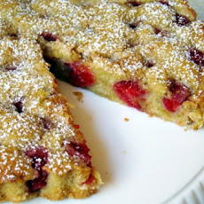 Raspberry Nut Butter Cake