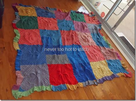 Mrs Walker's rug