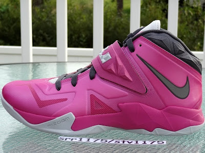 nike zoom soldier 7 gr think pink 2 05 Nike Zoom LeBron Soldier VII   Kay Yow / Think Pink
