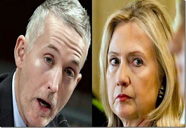 Gowdy vs Hillary