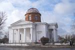 Успенский собор в Чугуеве творение питерского архитектора Стасова вновь с куполом.JPG
