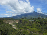 Singgalang seen from Sianok Canyon in Bukittinggi (Dan Quinn, May 2013)