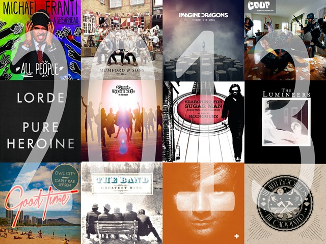 songs of 2013