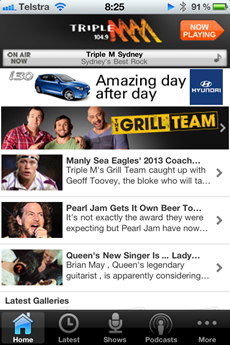 Triple M iPhone app