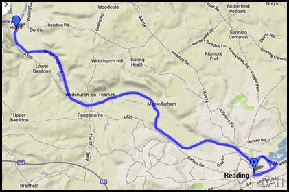 map Goring